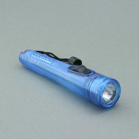 2 AA Cells Plastic Flashlight with String