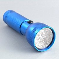 3AAA cells 21 LED Aluminium Flashlight