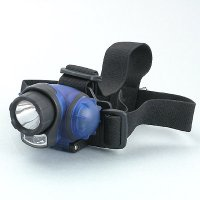 3 LED + 1 W LED Headlight 2 functions